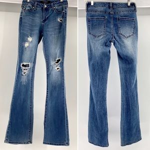 LIVERPOOL-Size 0/25-Isabell Distressed Jeans